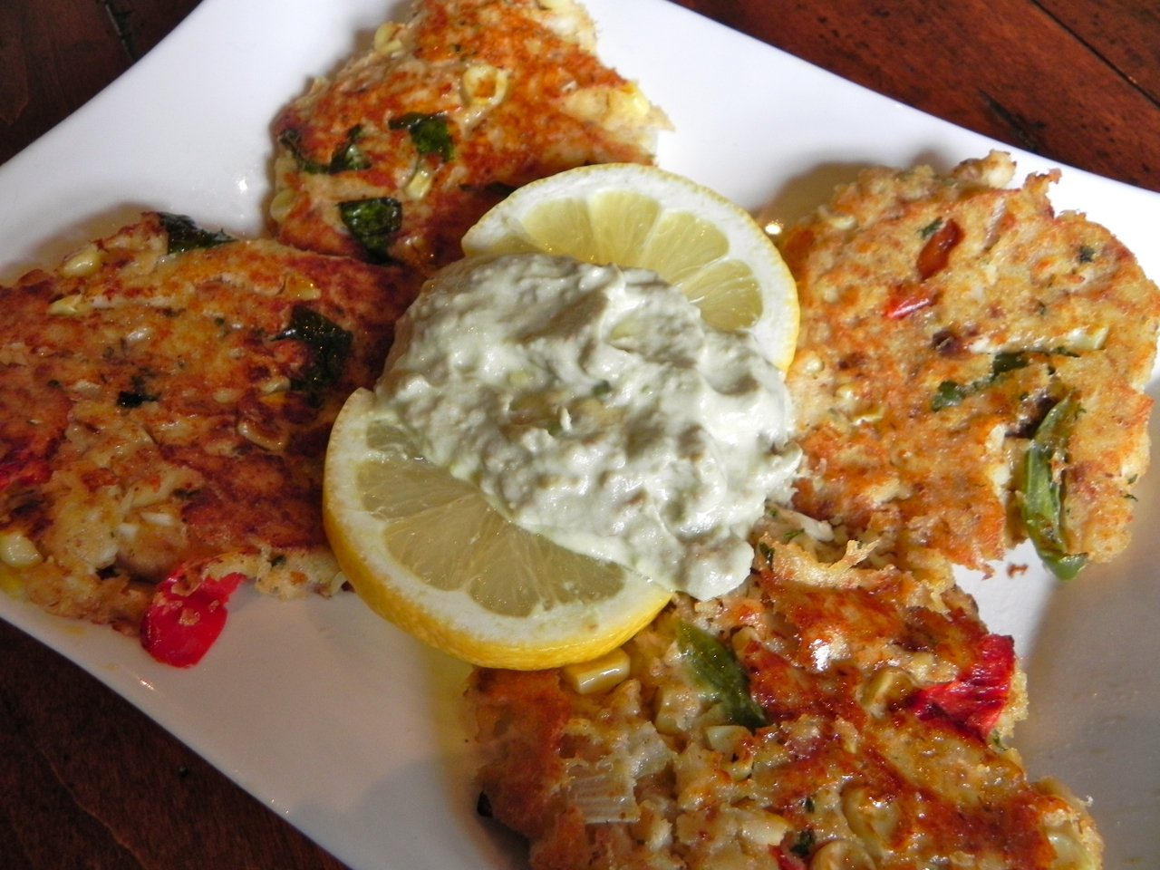 Fit for a King (or Lord) Tilapia Cakes from www.SimplyDeliciousLiving.tv
