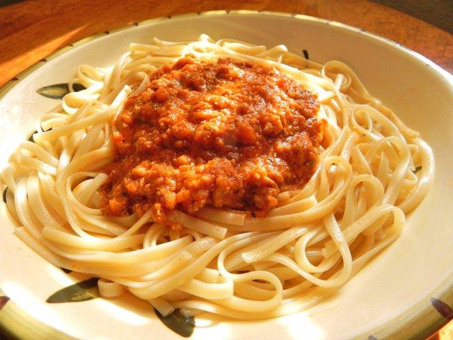 Pasta Bolognese