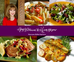 The Simply Delicious Living Cookbook – 40+ Delicious Entrées