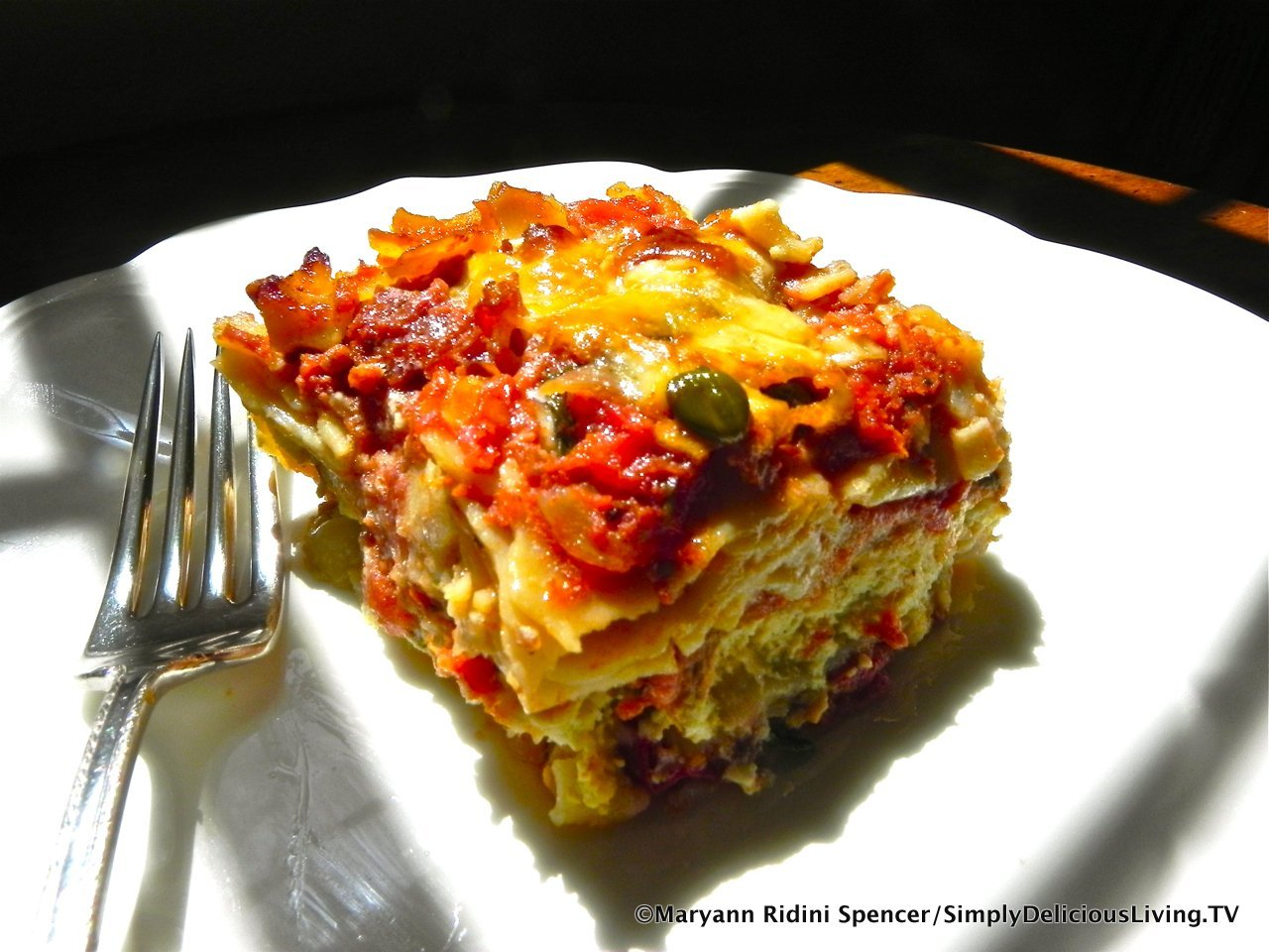 Classic Cheese Lasagne – Simply Delicious Living with Maryann®