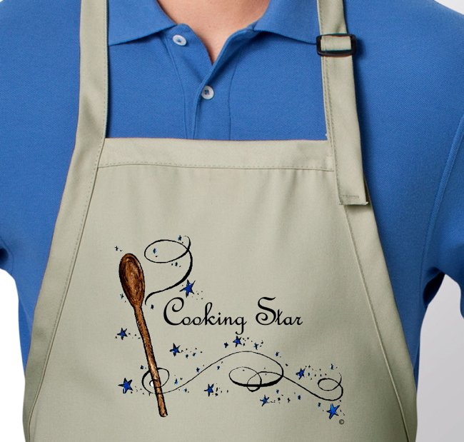 Delicious Living Aprons in our Store!